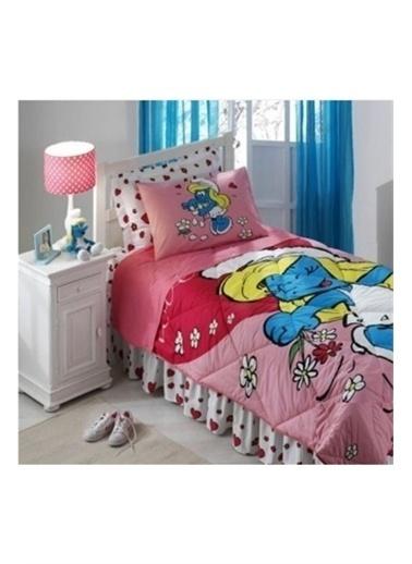 Taç Lisanslı Uyku Seti Tek Kişilik Şirine Renkli
